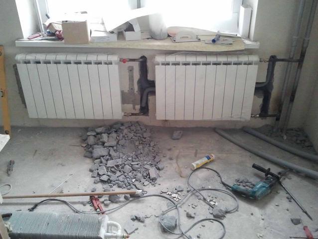 Ремонт отопления в квартире